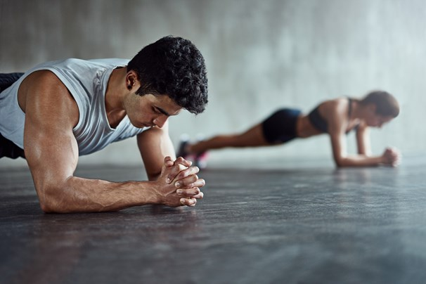 Here's How Long You Should Be Able To Hold A Plank