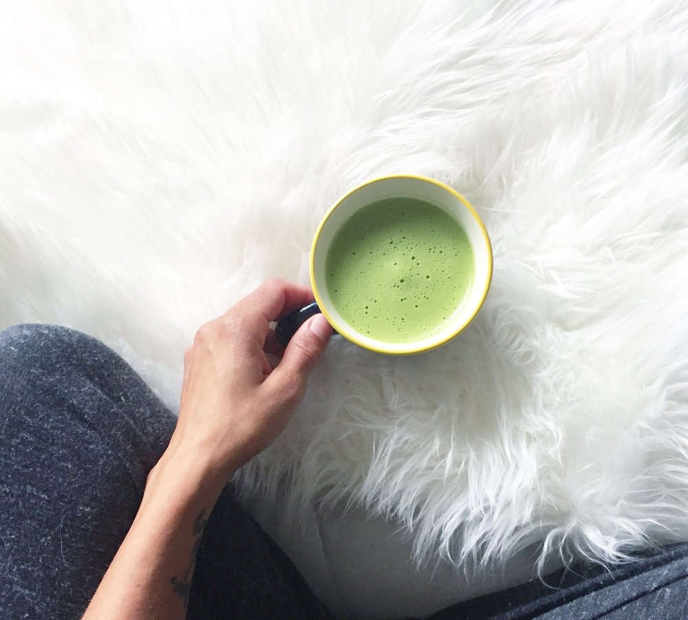 Breakfast: Matcha Latte