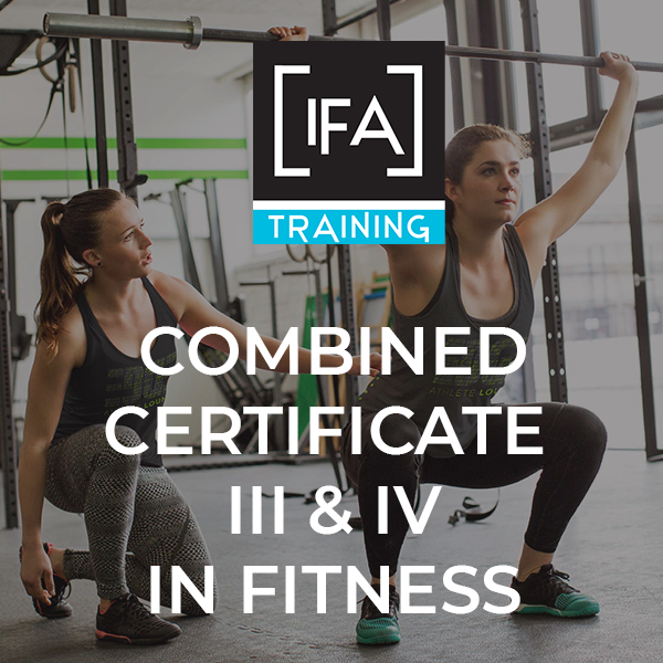 Combined SIS30315 Certificate III in Fitness & SIS40215 Certificate IV in Fitness