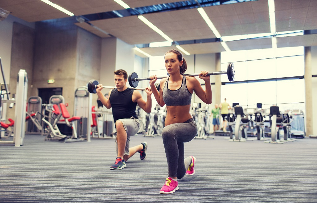 You're Probably Doing Front Lunges Wrong — Here's How To Get It Right